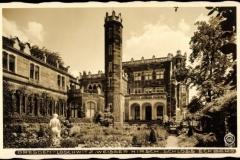 Postkarte Schloss Eckberg 1939