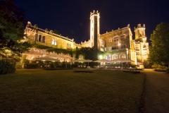 Schloss nachts