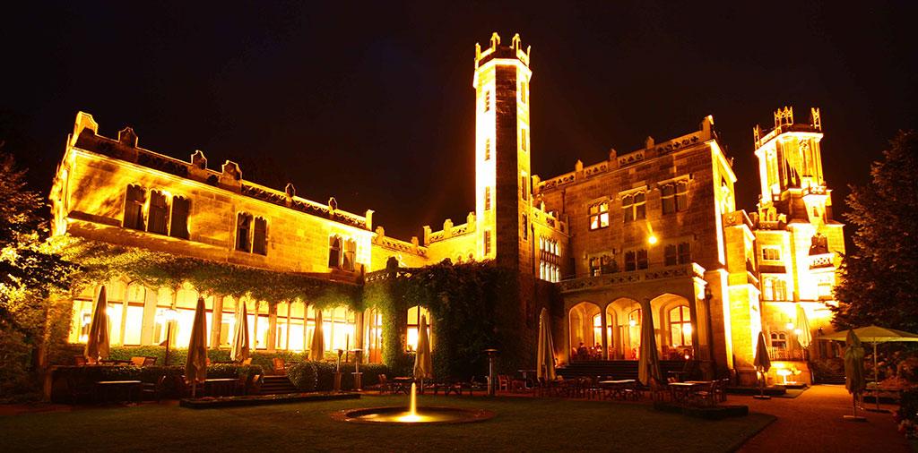 Schloss-bei-Nacht