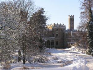 Schloss Eckberg im Winter