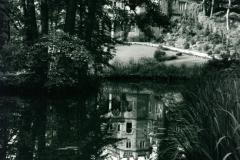 Teich Schloss vorn
