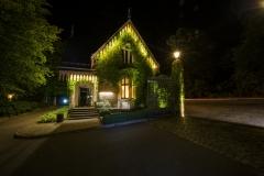 Rezeption/ Torhaus nachts